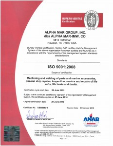 ALPHA-MAR - 433008 - Final Certificate